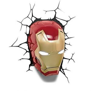 Iron Man Helmet 3D Light