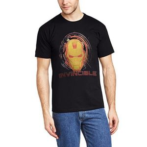 Iron Man Invincible T-Shirt Black