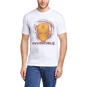 Iron Man Invincible T-Shirt White