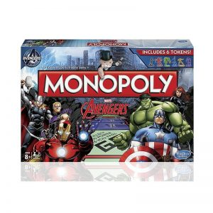 Marvel Avengers Monopoly Board Game