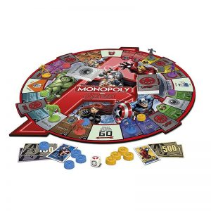 Marvel Avengers Monopoly Board Game2