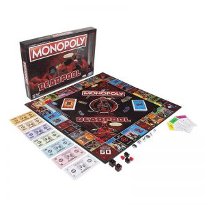 Marvel Deadpool Monopoly Board Game2
