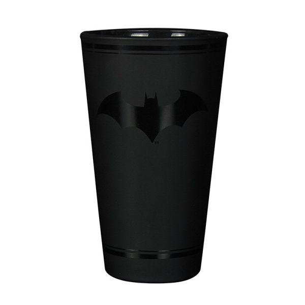 Matte Black Batman Glass