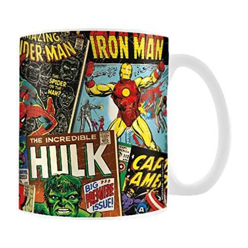 Retro Marvel Mug