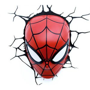 Spiderman Mask 3D LED Light