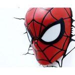 Spiderman Mask 3D LED Light4