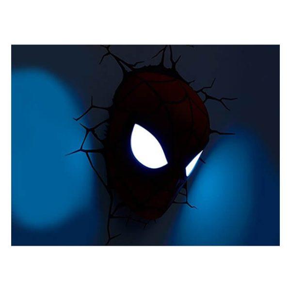 Spiderman Mask 3D LED Light3
