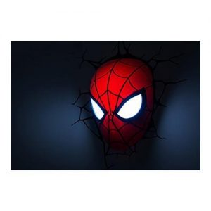 Spiderman Mask 3D LED Light2