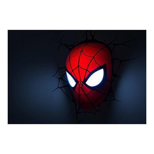 Spiderman Mask 3D LED Light2