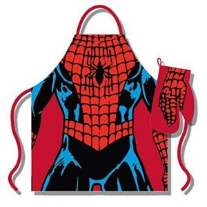 Spiderman Apron and Gloves Set