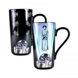 Star Wars Leia Heat Changing Mug