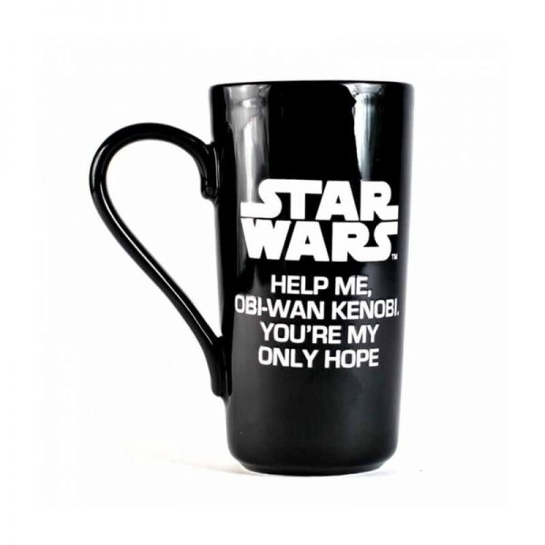 Star Wars Leia Heat Changing Mug2