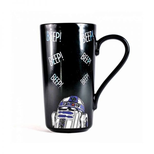 Star Wars Leia Heat Changing Mug4