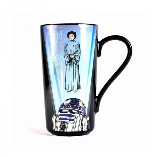 Star Wars Leia Heat Changing Mug5