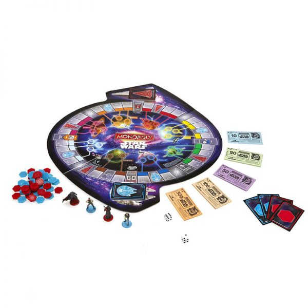 Star Wars Monopoly Board Game2