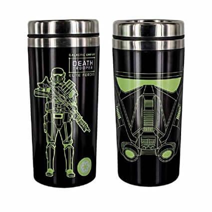 Star Wars Rogue One Death Trooper Travel Mug