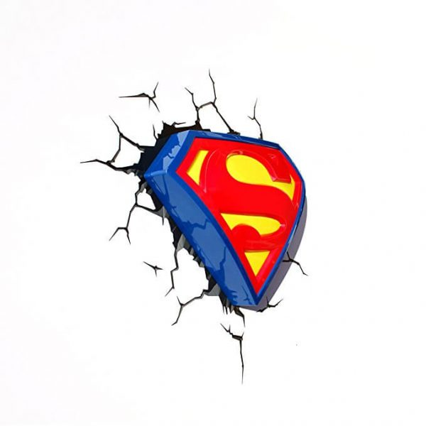 Superman Logo 3D Light1