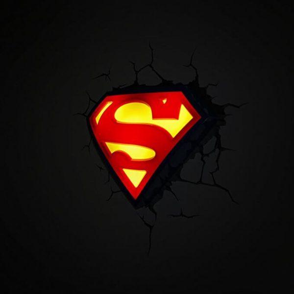 Superman Logo 3D Light2