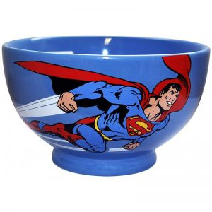 Superman Stoneware Bowl2