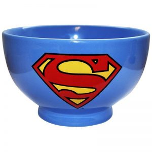 Superman Stoneware Bowl