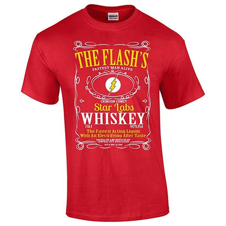 The Flash Whiskey T-Shirt