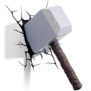Thor's Hammer 3D LED Light