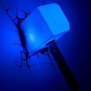 Thor's Hammer 3D LED Light1