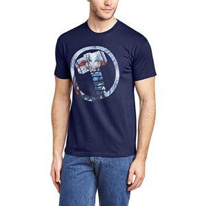 Thor Mjölnir Hammer Symbol T-Shirt Navy