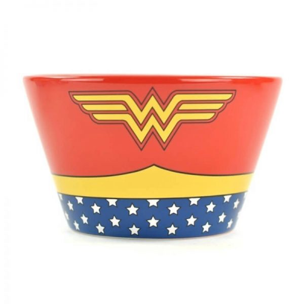 Wonder Woman Ceramic Deep Bowl