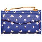 Wonder Woman Clutch Purse Bag Back