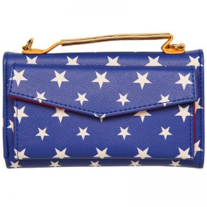 Wonder Woman Clutch Purse Bag Back