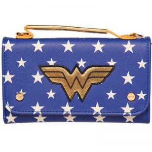 Wonder Woman Clutch Purse Bag Front