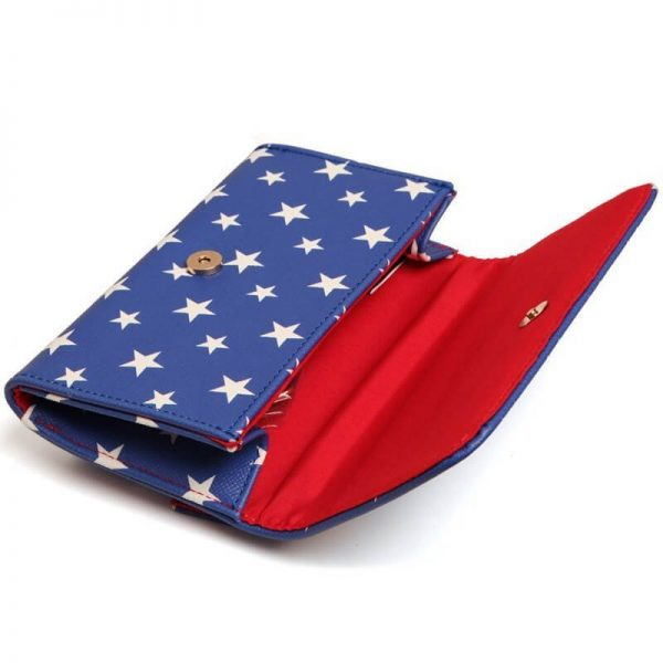 Wonder Woman Clutch Purse Bag Inside