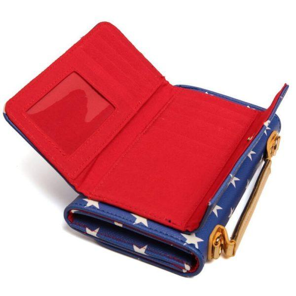 Wonder Woman Clutch Purse Bag Inside 2