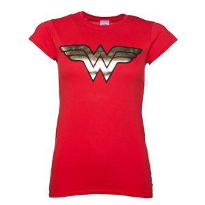 Wonder Woman Gold Logo T-Shirt