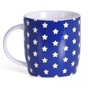 Wonder Woman Stars Mug Back