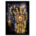 Marvel Thanos Gauntlet Poster