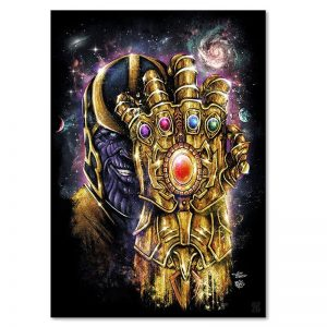 Marvel Thanos Gauntlet Poster