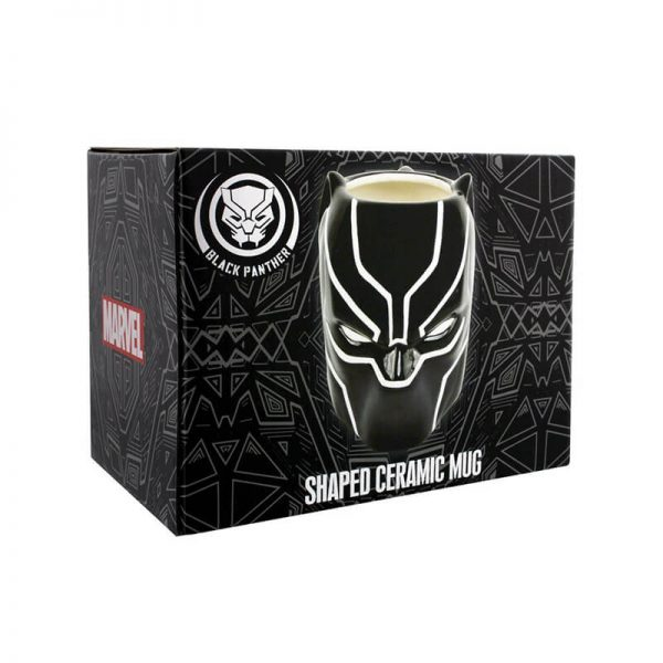 Black Panther 3D Mug Box