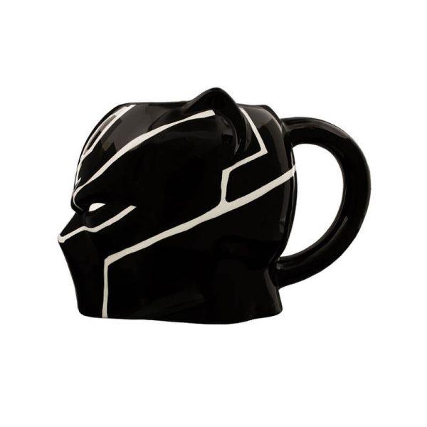 Black Panther 3D Mug Left