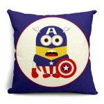 Captain America Minion Pillow Case