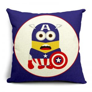Captain America Minion Pillow Case
