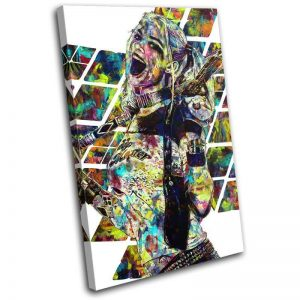 Colourful Harley Quinn Suicide Squad Canvas