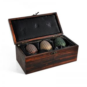 Game of Thrones Dragon Egg With Wooden Box