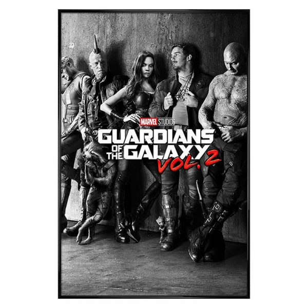 Guardians Of The Galaxy Framed Vol. 2 Poster