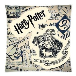 Newspaper Style Harry Potter Pillow Case