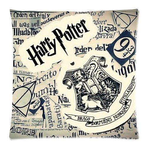 Harry Potter Newspaper Style Pillow Case