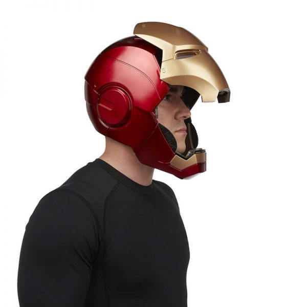 Premium Iron Man Helmet Open