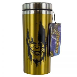 Marvel Avengers Infinity War Thanos Travel Mug Front