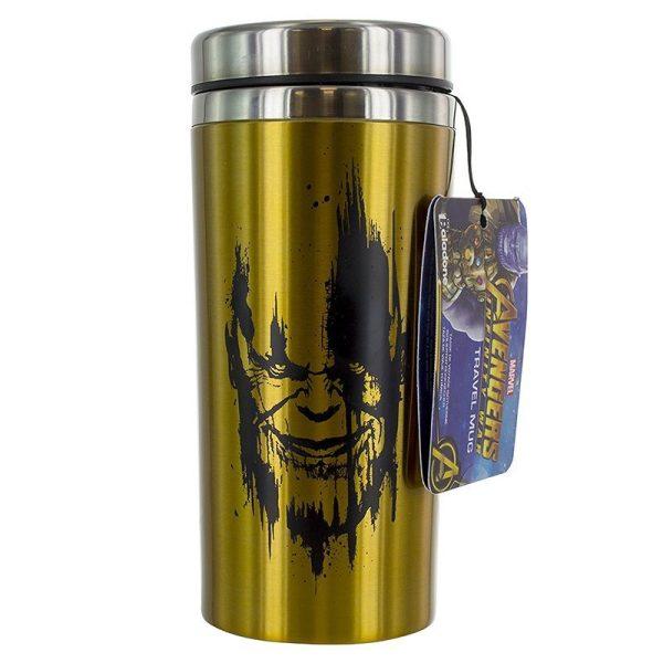 Marvel Avengers Infinity War Thanos Travel Mug Front